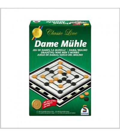 Mhle / Dame Spiel XL